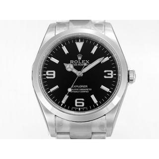 仕上済 ロレックス 黒文字盤 腕時計