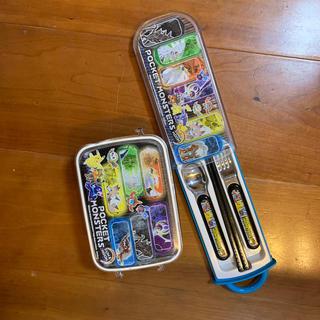 ポケモン(ポケモン)のポケモンのお弁当箱と箸フォークセット(弁当用品)