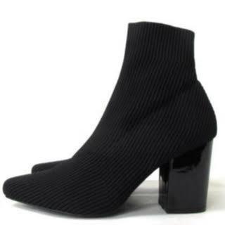 スライ(SLY)のSLY ソックスブーツ ブラックブーツ 限定値下げ(ブーツ)