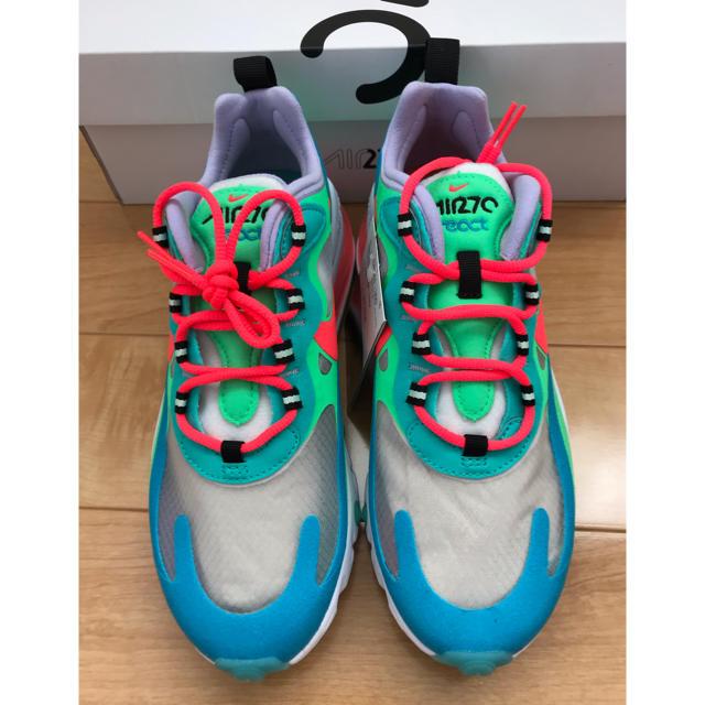 NIKE(ナイキ)のNIKE ウィメンズ エアマックス 270 リアクト 23cm  レディースの靴/シューズ(スニーカー)の商品写真