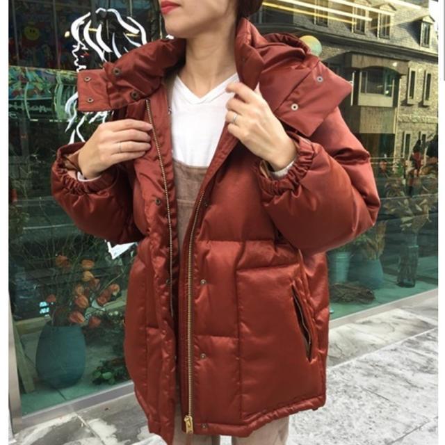 BEAUTY&YOUTH UNITED ARROWS(ビューティアンドユースユナイテッドアローズ)のroku beauty&youth SATIN HOOD DOWN レディースのジャケット/アウター(ダウンジャケット)の商品写真