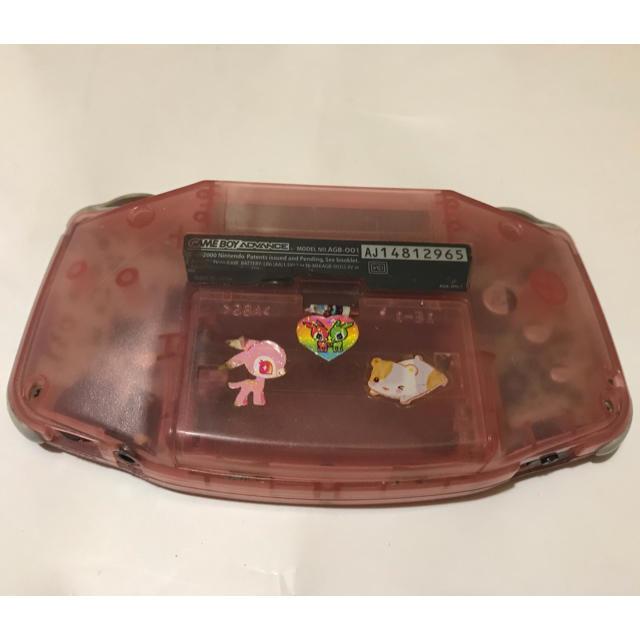 任天堂(ニンテンドウ)のジャンク品 ゲームボーイアドバンス ピンク エンタメ/ホビーのゲームソフト/ゲーム機本体(携帯用ゲーム機本体)の商品写真