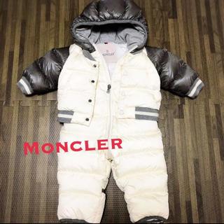モンクレール(MONCLER)の美品 モンクレール フード付き ダウンロンパース  GREG グレッグ(ジャケット/コート)