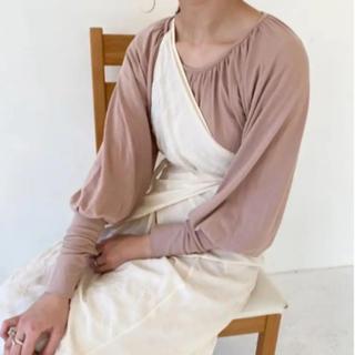 カスタネ(Kastane)の2wey crinkle wrap skirt(ロングスカート)