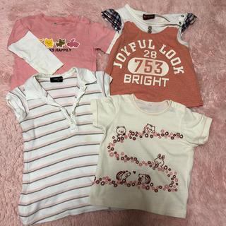 コムサイズム(COMME CA ISM)のシャツ4枚セット (Tシャツ/カットソー)