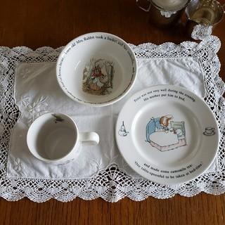 WEDGWOOD - ピーターラビット カップ 皿 プレート シリアルボウル スープ皿
