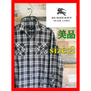 BURBERRY BLACK LABEL - BURBERRY BLACK LABEL バーバリーブラックレーベル 希少品