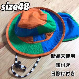 アンパサンド(ampersand)の新品未使用!ベビー帽子size48(帽子)