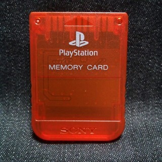 プレイステーション(PlayStation)のAZ001 PS1メモリーカード1個 ソニー純正 即購入歓迎  動確初期化済(家庭用ゲーム機本体)