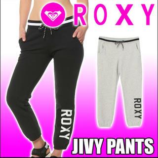 ロキシー(Roxy)のROXY ロキシー スウェット 【JIVY PANTS】ロゴスウェットパンツ(カジュアルパンツ)
