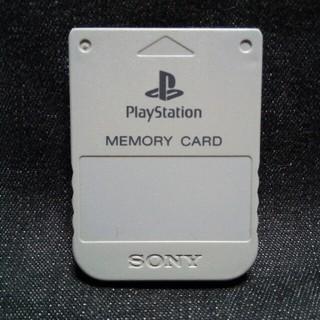 プレイステーション(PlayStation)のAZ002 PS1メモリーカード1個 ソニー純正 即購入歓迎  動確初期化済(家庭用ゲーム機本体)