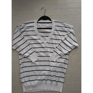 PLST - PLST Vネックセーター Mサイズ