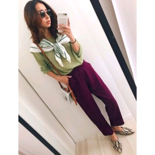 Ameri VINTAGE - Ameri 新品♥神パンツ♥クラシックカラー美脚パンツ