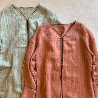 アリエス(aries)のariesmirage Stripe Gown(ロングワンピース/マキシワンピース)