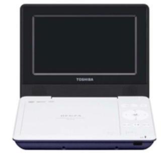 トウシバ(東芝)の値下げ 東芝 DVDプレーヤー REGZA ブルー SDP710SL(DVDプレーヤー)