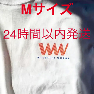SnowMan WILDLIFE WORKS  WLW Tシャツ オレンジ