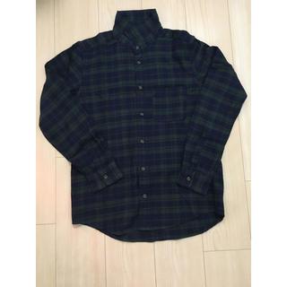 ハレ(HARE)の新品 HARE チェックシャツ Sサイズ(シャツ)