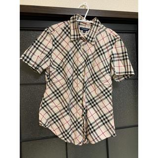 バーバリーブルーレーベル(BURBERRY BLUE LABEL)のBurberry バーバリー チェックシャツ(シャツ)