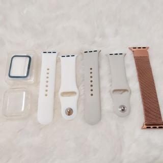 アップル(Apple)のApple Watch 38/40mm 対応バンド等のアクセサリー(腕時計)