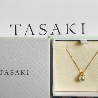 タサキ(TASAKI)の週末限定お値下げ TASAKI タサキ あこや真珠 ネックレス  k18  YG(ネックレス)