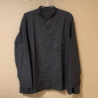 MUJI (無印良品) - 【無印良品】紳士オックススタンドカラーシャツ