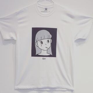 ジャーナルスタンダード(JOURNAL STANDARD)のハシヅメユウヤ Girl Tシャツ eyewater Mサイズ(Tシャツ/カットソー(半袖/袖なし))