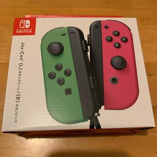 Nintendo Switch - ニンテンドースイッチ ジョイコン ネオンピンクグリーン
