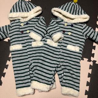 プティマイン(petit main)のプティマイン♡双子♡ジャンプスーツ♡冬用(ジャケット/コート)