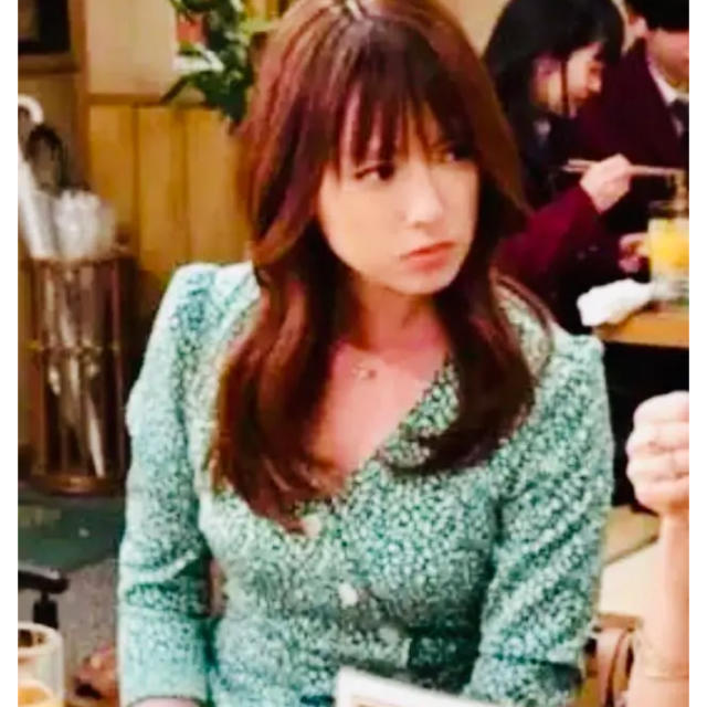 SLY(スライ)の深田恭子 深キョン 着用 ドラマ はじこい 衣装 スライ✴︎ロングワンピース レディースのワンピース(ロングワンピース/マキシワンピース)の商品写真