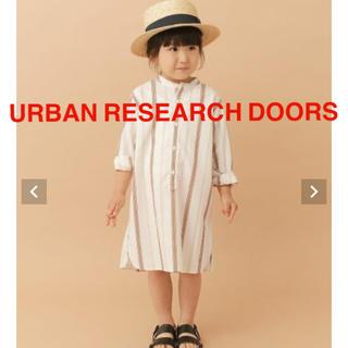 ドアーズ(DOORS / URBAN RESEARCH)の【URBAN RESEARCH DOORS】バンドカラーシャツワンピース(ワンピース)