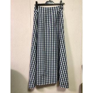 スコットクラブ(SCOT CLUB)のAga check longスカート(ロングスカート)