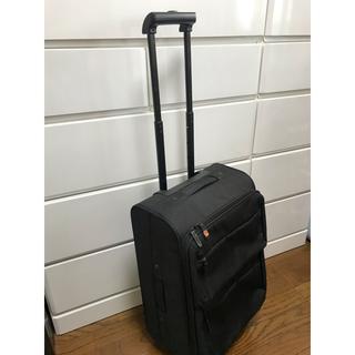 ムジルシリョウヒン(MUJI (無印良品))の無印良品 ソフト キャリーケース スーツケース 黒 ブラック キャリーバッグ(トラベルバッグ/スーツケース)