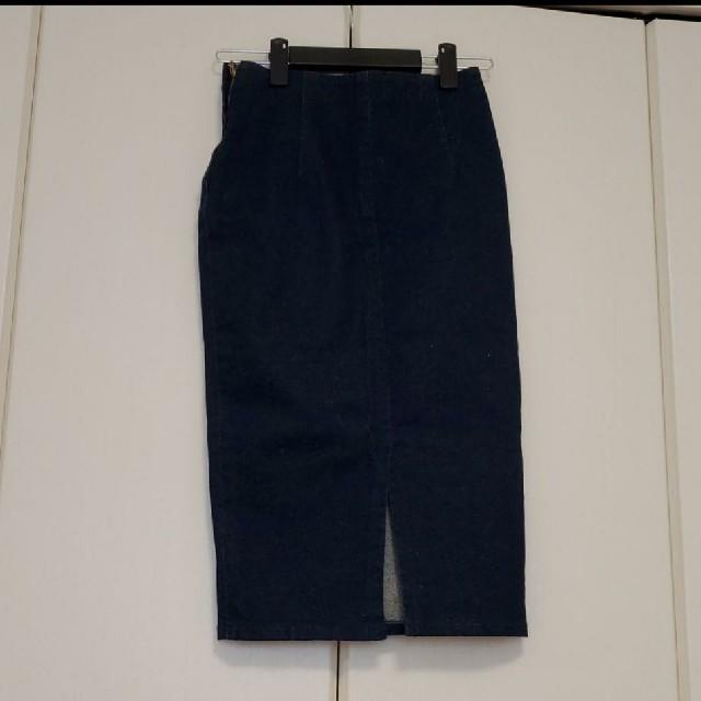 snidel(スナイデル)のスナイデル snidel デニムミドルタイトスカート レディースのスカート(ひざ丈スカート)の商品写真