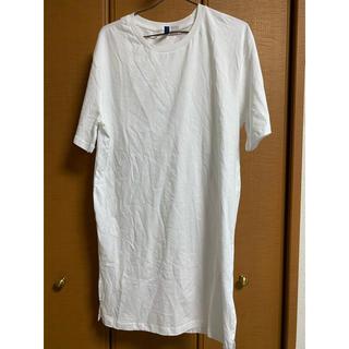 エイチアンドエム(H&M)のH&M メンズロングTシャツ S(Tシャツ/カットソー(半袖/袖なし))