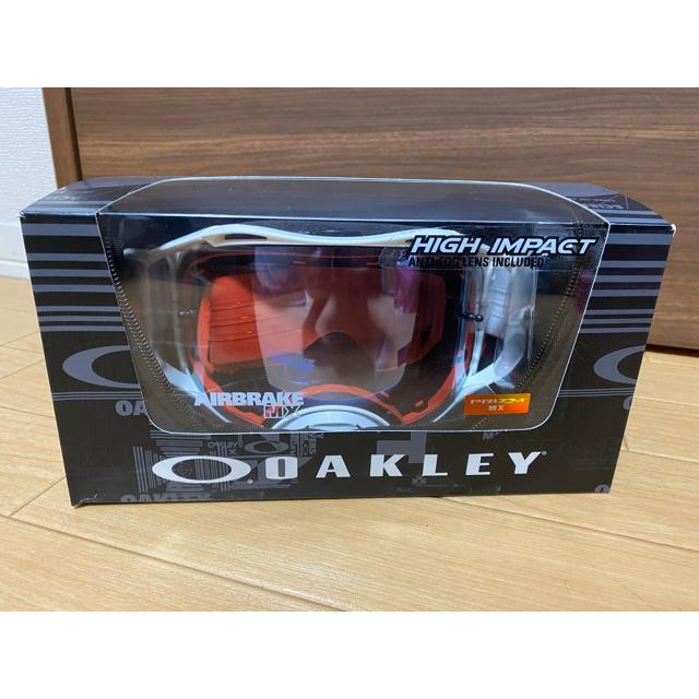 Oakley(オークリー)のゆうや様専用 Oakle エアブレイク オフロードゴーグル 新品未使用 自動車/バイクのバイク(モトクロス用品)の商品写真