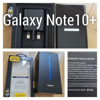 Galaxy Note10+ オーラグロー 256 GB SIMフリー