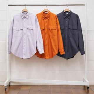 アンユーズド(UNUSED)の試着のみ unused 20ss Flap Pocket Shirts(シャツ)