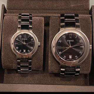 Gucci - 【美品】GUCCIのペア腕時計
