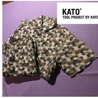 Ron Herman - 【美品✨】KATO BASIC セットアップ シャツ ショートパンツ