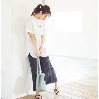 カンゴール(KANGOL)のKANGOL 袖ラウンドチュニックTシャツ(Tシャツ(半袖/袖なし))
