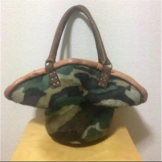 H.P.FRANCE - ebagos  エバゴス カモフラージュ 帽体バッグ
