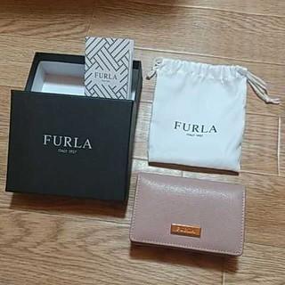 フルラ(Furla)のFURLA フルラ 名刺入れ ピンク(名刺入れ/定期入れ)