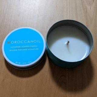 Moroccan oil - アロマキャンドル モロッカンオイル 非売品