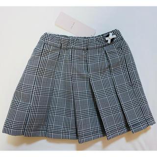 プティマイン(petit main)の【新品未使用】petit main  プリーツスカート 100cm(スカート)