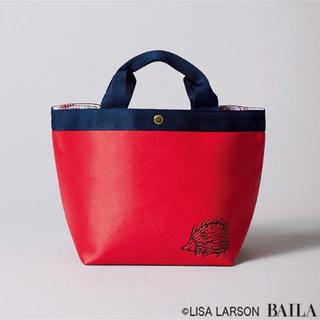 リサラーソン(Lisa Larson)のリサ・ラーソンのレザー調ランチトート(トートバッグ)