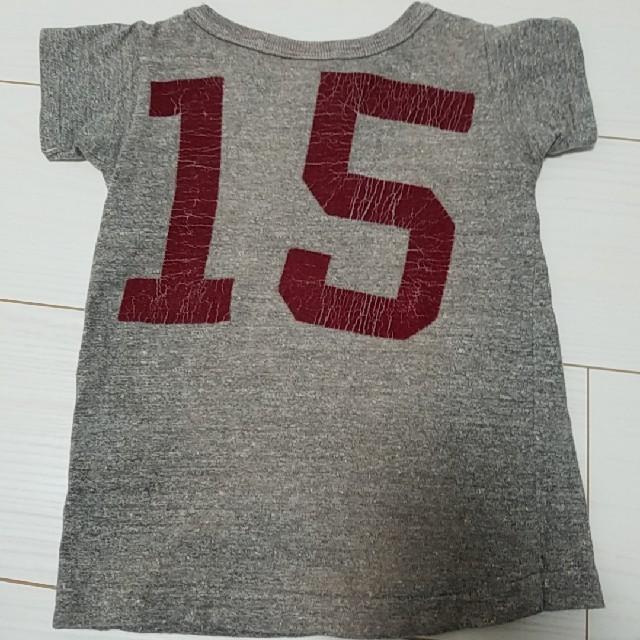 DENIM DUNGAREE(デニムダンガリー)のデニムダンガリー 90センチ キッズ/ベビー/マタニティのキッズ服男の子用(90cm~)(Tシャツ/カットソー)の商品写真