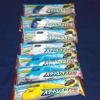 バンダイ(BANDAI)のスタートレインチョコ7本セット(菓子/デザート)