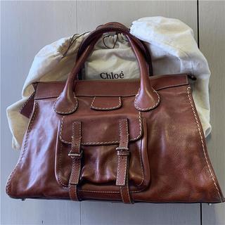 クロエ(Chloe)の綺麗 Chloe 約17万 大型本革バッグ(ハンドバッグ)