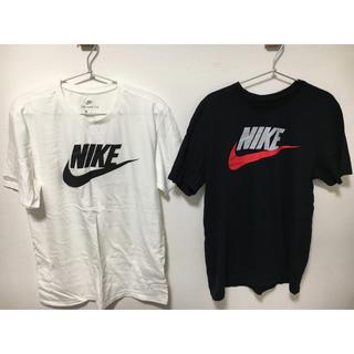 NIKE - NIKE ナイキ TシャツL 白 黒 セット
