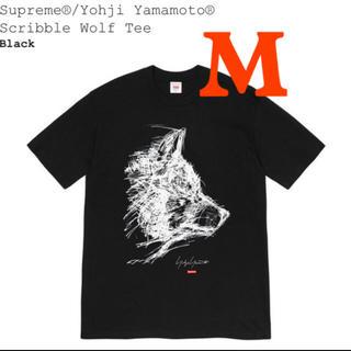 Supreme - Supreme/Yohji Yamamoto Scribble Wolf Tee